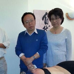 Fortbildung bei Prof. Dr. H Youping vom Chengdu Hospital of TCM